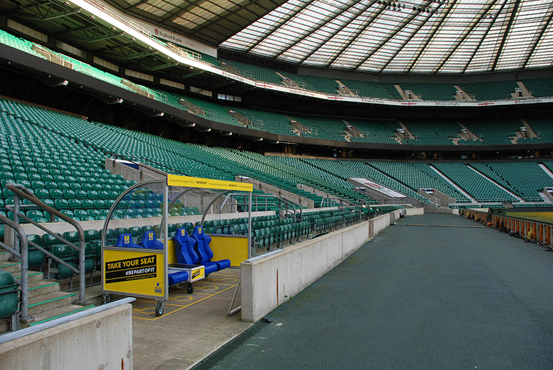 twickenham rugby shelter