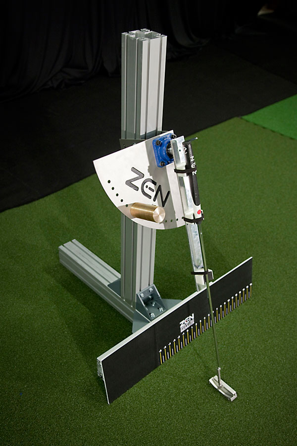 zen putter arm made from MiniTec